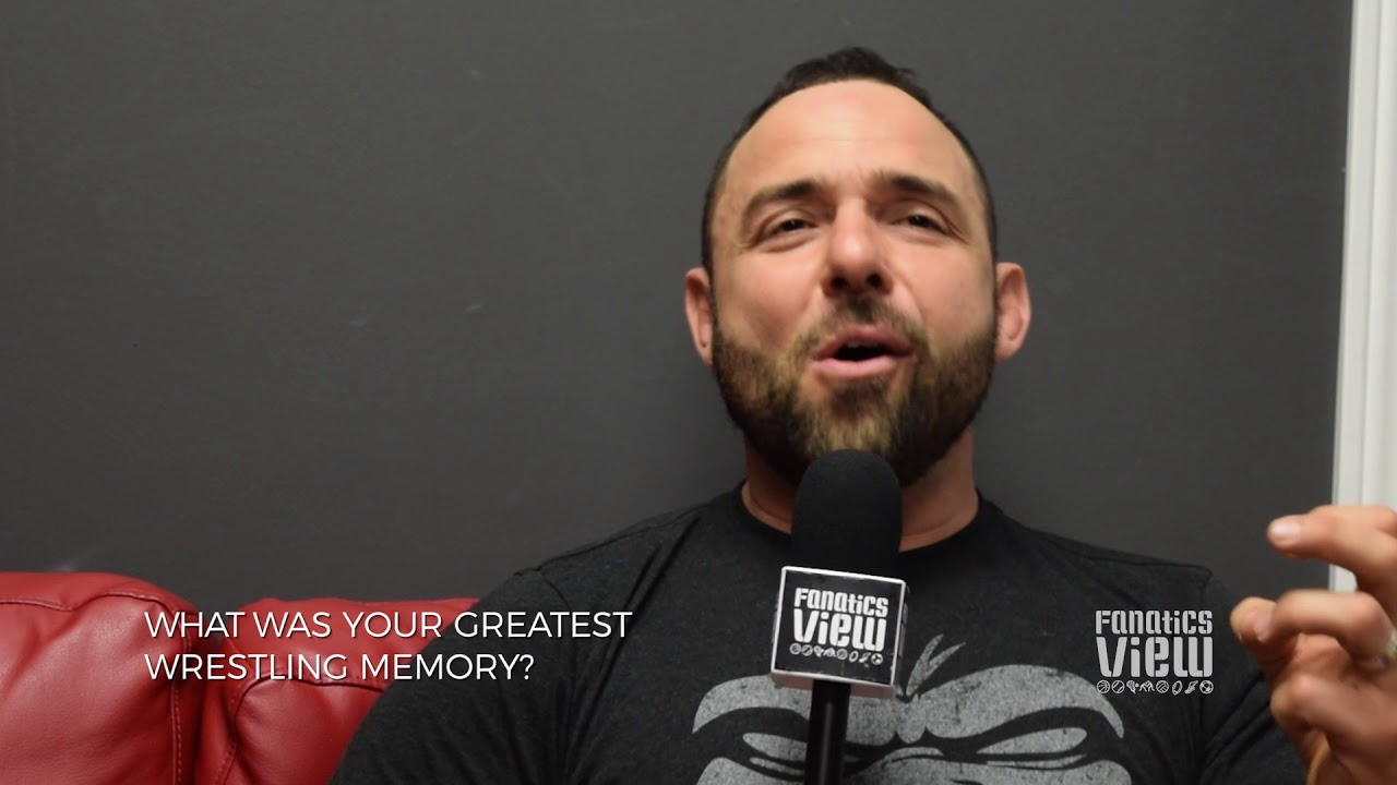 Santino Marella describes his greatest Wrestling memory in WWE (Interview Part 1)