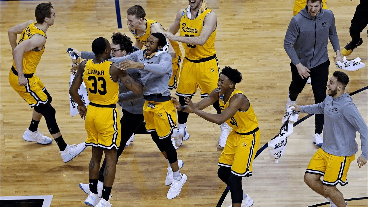 UMBC Retrievers become first 16-seed to knock off a No. 1