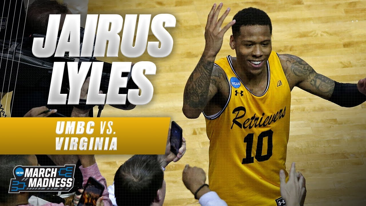 UMBC's Jairus Lyles shoots the lights out in historic upset of Virginia