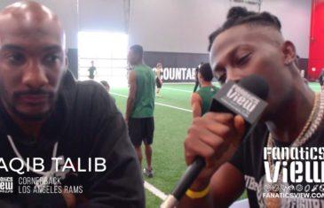 Aqib Talib & Von Miller Training Tour – A+D1 Behind The Scenes with De'Vante Harris
