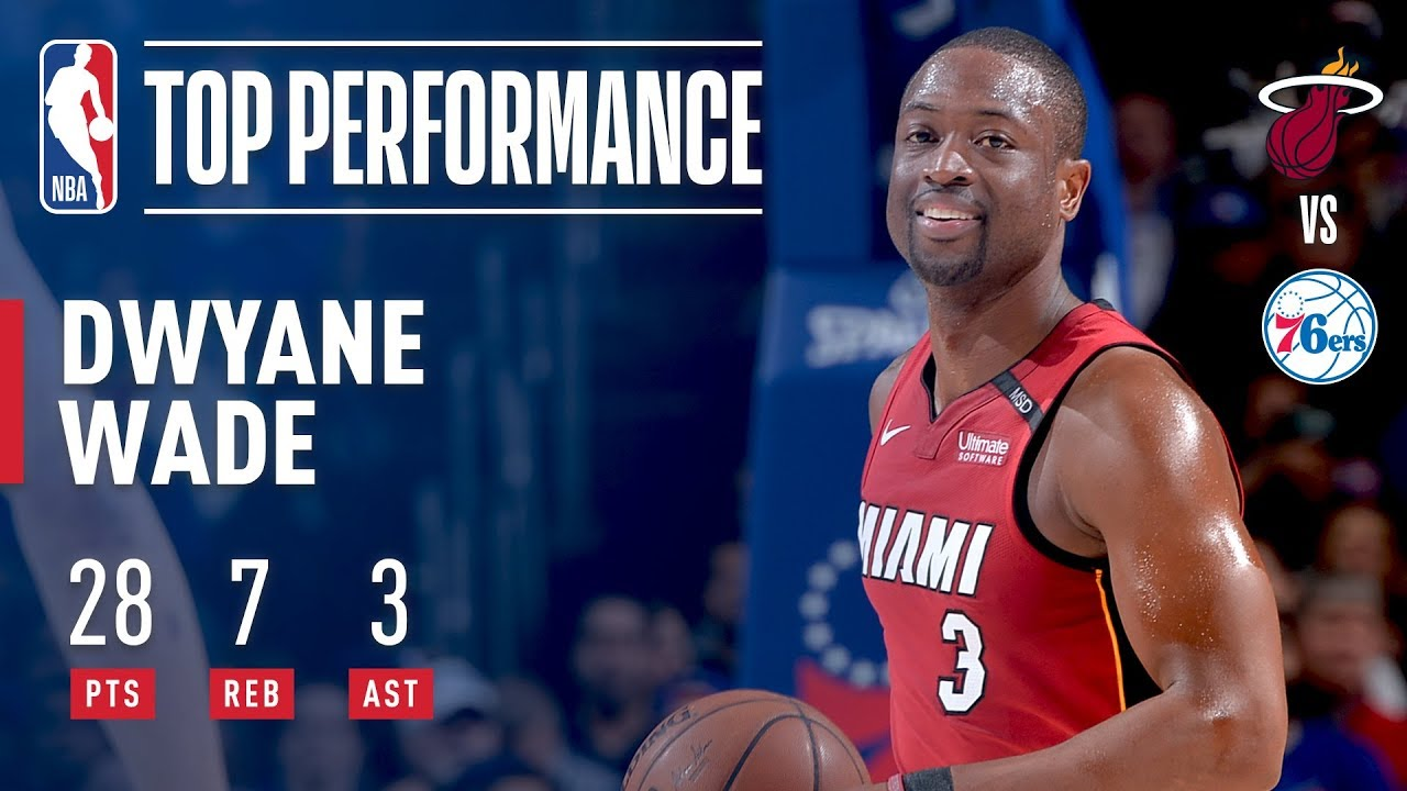 Dwyane Wade carries Miami to victory with a vintage performance