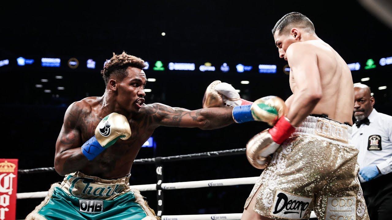 Jermall Charlo scores an impressive knockout victory over Hugo Centeno Jr.