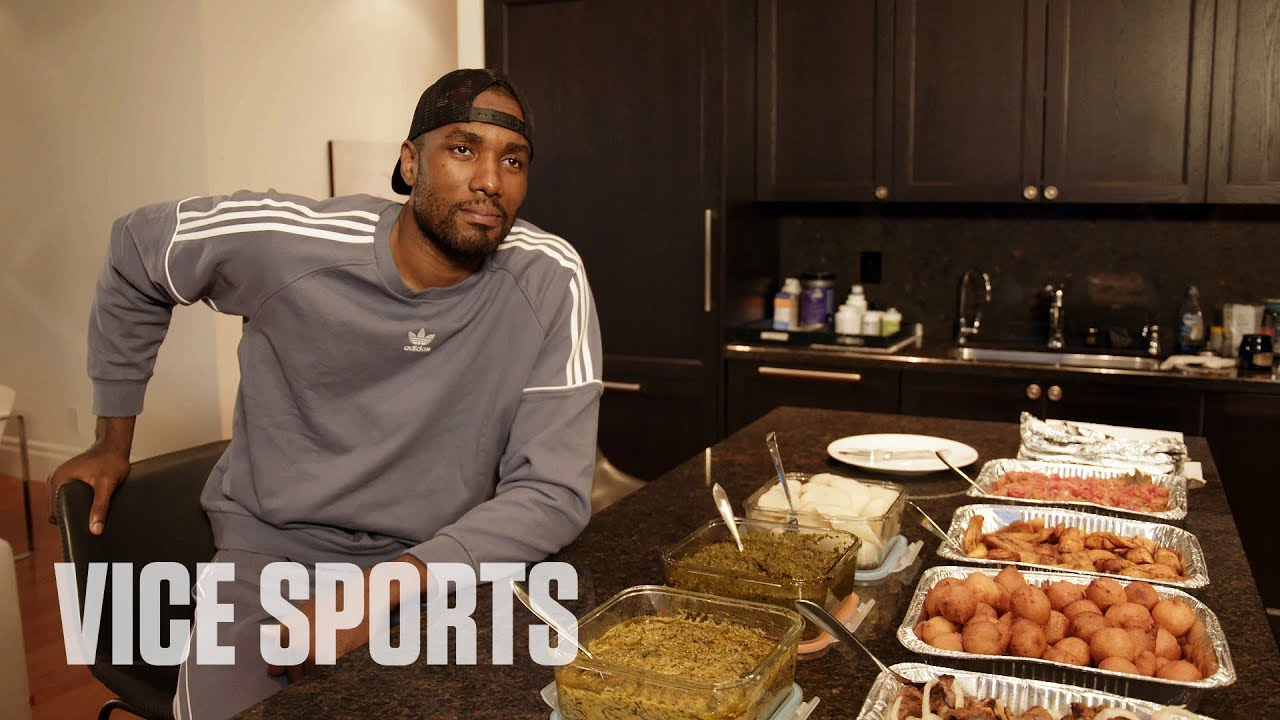 Serge Ibaka chows down on Congolese food with Vice Sports