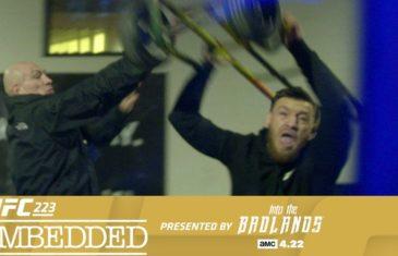 UFC releases behind the scenes footage of Conor McGregor's violent Brooklyn rampage