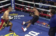 Javier Rodriguez lands vicious KO punch against Wesby