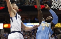 Chandler Parsons dunks on JJ Hickson!