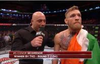 Conor McGregor has strong words for José Aldo post fight