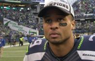 """Earl Thomas post game interview – """"We never gave up"""""""