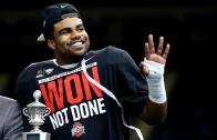 Ohio State RB Ezekiel Elliott on his record setting power running game