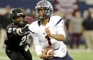 5 star recruit Kyler Murray sticking with Texas A&M (High School Tape)