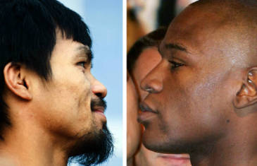 "Manny Pacquiao to Floyd Mayweather ""Sign the contract"""
