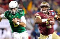 Jameis Winston or Marcus Mariota? The debate begins for who should be the #1 overall pick in the NFL draft