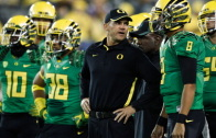 Oregon head coach Mark Helfrich talks Ohio St. matchup