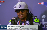 One more time: Marshawn Lynch speaks to media this time