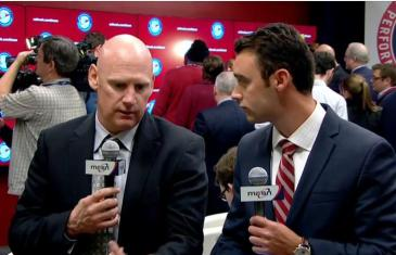 Nats manager Matt Williams shares his thoughts on Max Scherzer