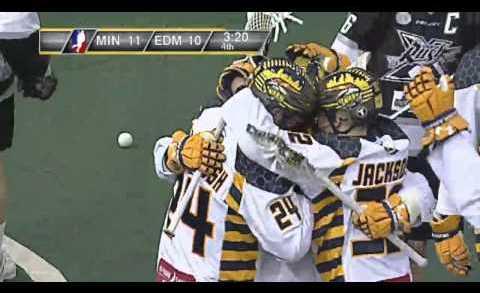 Sweet Lacrosse goal by Minnesota Swarm rookie Miles Thompson