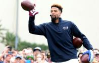 Odell Beckham Jr. sets Guinness world record for one-handed catches