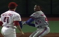 Pedro Martinez charges the mound after getting thrown at twice (Throwback Thursday)