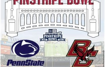 A look at Penn State and Boston College's week-long Pinstripe Bowl experience