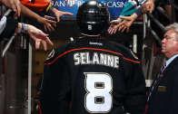 Teemu Selanne video tribute by the Anaheim Ducks