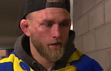Alexander Gustafsson talks disappointing loss to Anthony Johnson