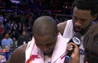 At It Again: DeAndre Jordan crashes Jamal Crawford interview and sings