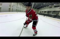 Crazy footage: NHL stars playing hockey with GoPro Cameras on their heads