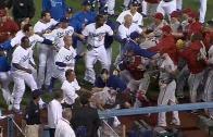 Massive brawl between the LA Dodgers & Arizona Diamondbacks (Throwback Thursday)