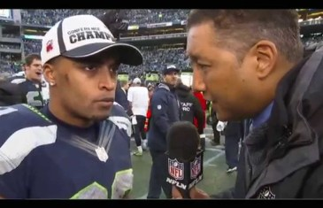 "Doug Baldwin calls out Deion Sanders for calling him ""alright"""