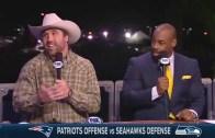 Jared Allen previews Super Bowl XLIX with Randy Moss, Donovan McNabb & Dave Wannstedt