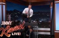 JJ Watt interview on Jimmy Kimmel + Jumps over Jimmy Kimmel
