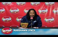 Marshawn Lynch Skittles press conference