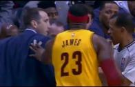 Out of Line? LeBron James pushes head coach David Blatt