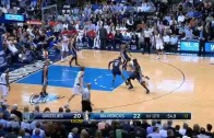 Rajon Rondo with a rare put back slam vs. Memphis