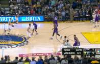 The splash is real: Klay Thompson scores 37 points in 1 quarter