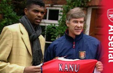 Arsenal signs legendary striker Nwankwo Kanu in 1999 (Throwback Thursday)