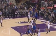 Wow: DeMarcus Cousins forgets to play defense on alley-oop pass