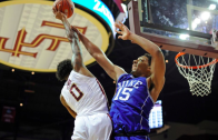 FSU's Phil Cofer throws in a dunk on Duke's Jahlil Okafor
