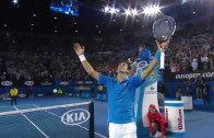 Andy Murray vs. Novak Djokovic in the 2015 Australian Open (Match Highlights)
