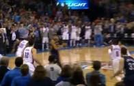 Anthony Davis hits amazing buzzer beater over Oklahoma City