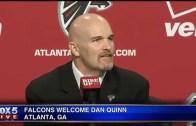 Atlanta Falcons introduce Dan Quinn as head coach