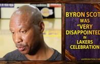 Byron Scott sides with Kobe Bryant on his Jimmy Kimmel reaction