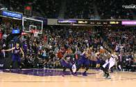 DeMarcus Cousins gets the bounce for a game winner vs. the Suns