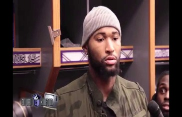 "DeMarcus Cousins post game interview ""How you gonna stop God's plan?"""