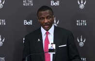 Dwayne Casey says no excuses for the Raptors 24 point loss to Golden State