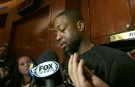 Dwyane Wade & Coach Erik Spoelstra speak to the media about losing Chris Bosh for the season