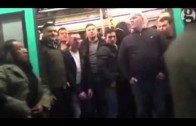 Horrible: Racist Chelsea fans don't allow black man to get on train