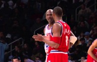 Kobe Bryant & Michael Jordan trash talking at 2003 All-Star Game