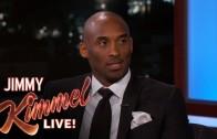 Kobe Bryant speechless over Lakers celebration after win on Jimmy Kimmel