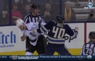 Kyle Clifford (Los Angeles) & Jared Boll (Columbus) drop the gloves